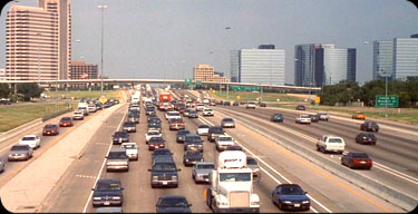 office space traffic, lbj in dallas